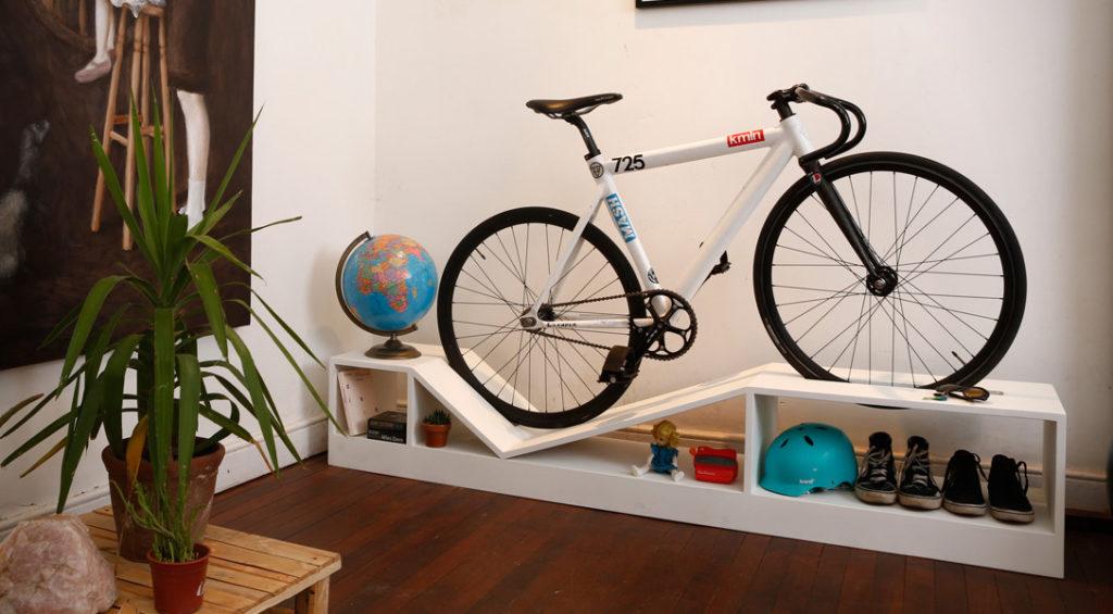 Indoor stylish bike storage