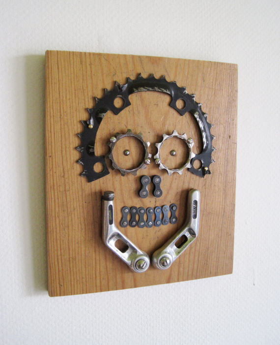 10 Great Ideas For Repurposing Your Old Bike Parts Don T